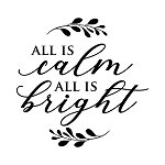 PAINTskins - All is calm. All is bright -  SIZE 10