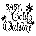 PAINTskins - Baby, its cold outside.-  SIZE 10