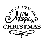 PAINTskins - Believe in the magic of Christmas-  SIZE 10