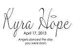 CUSTOM MONOGRAMS - ANGELS DANCED THE DAY YOU WERE BORN-17