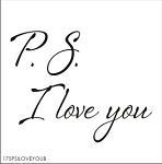 PS I love you - SIZE- 11.25