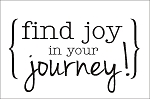 Find Joy in your Journey - 11.25