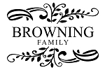 NEW - Custom Family Monogram - 17