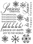 SEASONS GREETINGS  COLLECTION 17 X 22