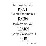 THE MORE THAT YOU READ THE MORE THINGS YOU'LL KNOW...-Dr. Seuss-11