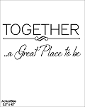 TOGETHER a great place to be - 4