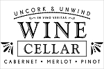WINE CELLAR SIGN - 11.25
